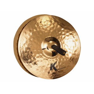 "zildjian 18"" k symphonic light brilliant cymbal pair"