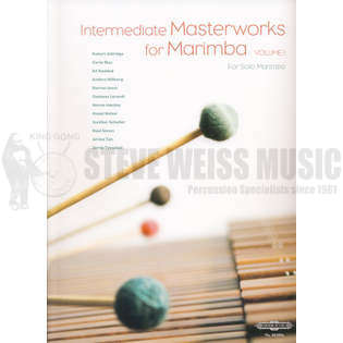zeltsman-intermediate masterworks for marimba volume 1