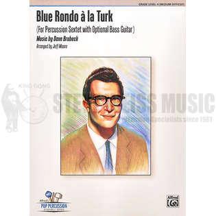 Blue Rondo A La Turk By Dave Brubeck Arr Jeff Moore