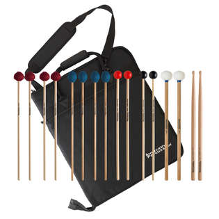 innovative percussion fp3-plus college primer mallet pack