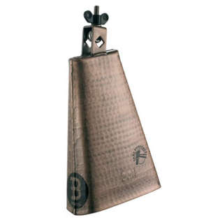 "meinl 8"" big mouth hand hammered copper cowbell"