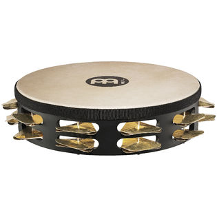 "meinl 10"" double row tambourine - super dry studio"