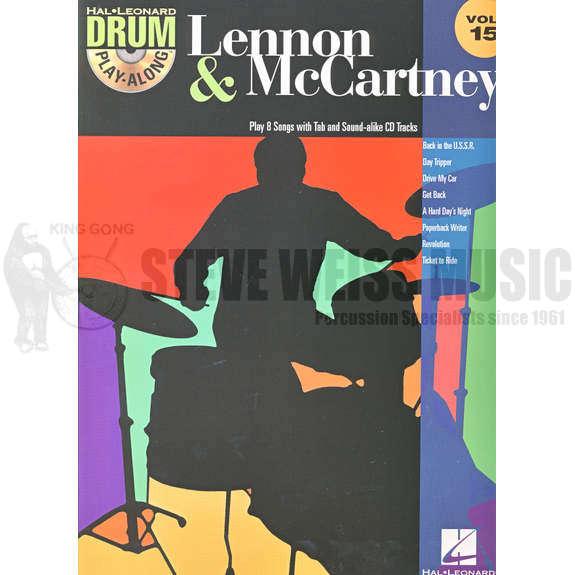 Hal Leonard Drum Play-Along-Lennon/McCartney vol  15 (bk/cd)