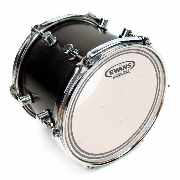 evans ec2 sst coated drum head evans drum heads steve weiss music