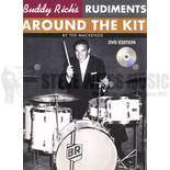 mackenzie-buddy rich's rudiments around the kit (dvd)