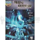 hal leonard drum play-along-'90's rock vol. 6