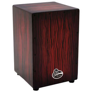 lp aspire cajon - darkwood streak finish