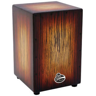 lp aspire cajon - sunburst streak finish