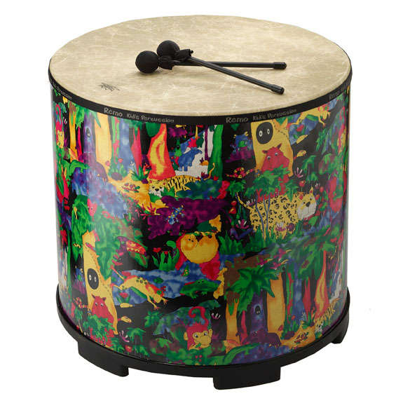 remo kids gathering drum 21 x22 kids percussion miscellaneous steve weiss music. Black Bedroom Furniture Sets. Home Design Ideas