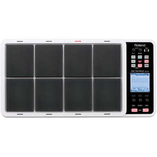 roland spd-30 octapad digital percussion pad - white