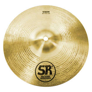 "sabian 10"" sr2 thin splash cymbal"