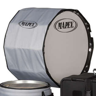 mapex marching bass drum cover