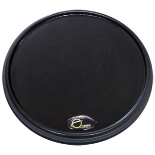 offworld percussion invader v3 practice pad - black