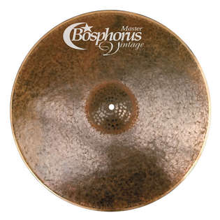 "bosphorus 21"" master vintage series ride cymbal"