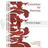 zalupe-concertino for marimba (sp)-m/pn red.