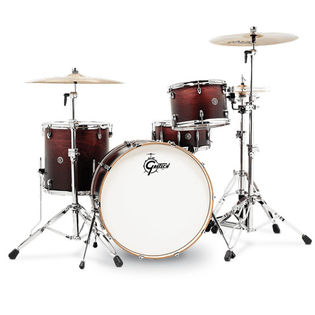 "gretsch catalina club rock 4 piece shell pack - 24"" bass drum"
