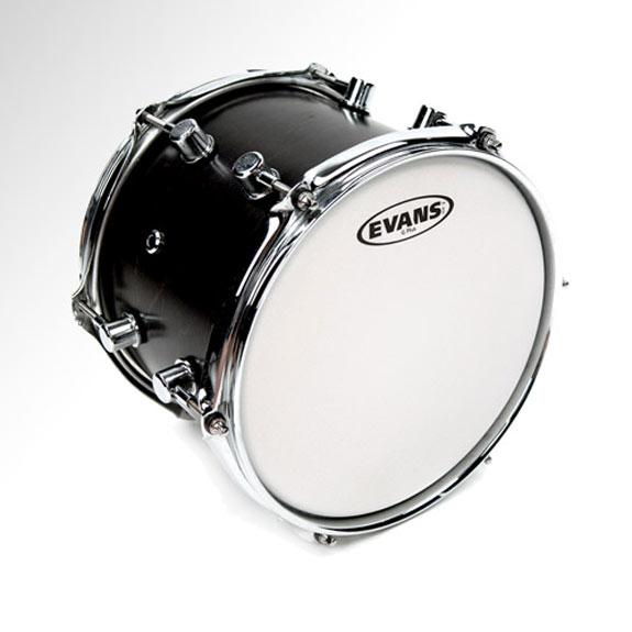 evans g plus coated white drumhead evans drum heads steve weiss music. Black Bedroom Furniture Sets. Home Design Ideas