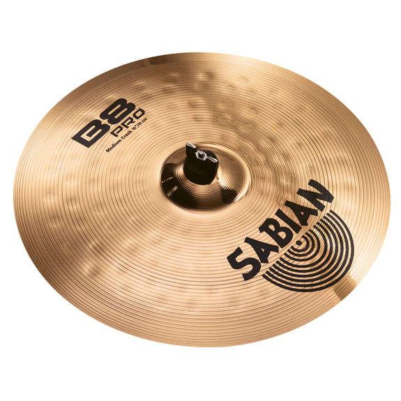 sabian 16 b8 pro medium crash cymbal crash cymbals steve weiss music. Black Bedroom Furniture Sets. Home Design Ideas