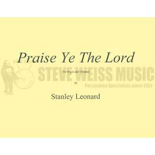 leonard (arr.)-praise ye the lord (sp)-4t/or