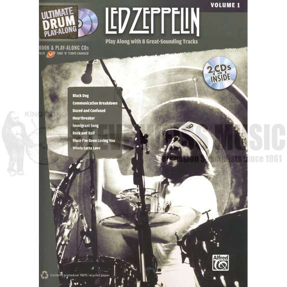 Led Zeppelin-Ultimate Drum Playalong vol  1 (w/2CD)