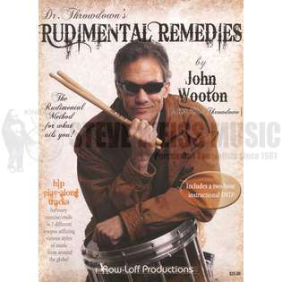 wooton-dr. throwdown's rudimental remedies (w/dvd)