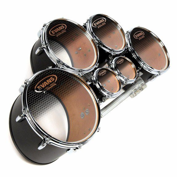 evans system blue marching tenor drumhead marching tenor drum heads steve weiss music. Black Bedroom Furniture Sets. Home Design Ideas