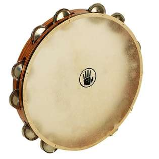 "black swamp 12"" single row tambourine t12-3"