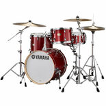 "yamaha stage custom 3 piece birch bebop shell pack with 18"" bass drum"