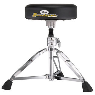 pearl roadster drum throne - round vinyl top with shock absorber