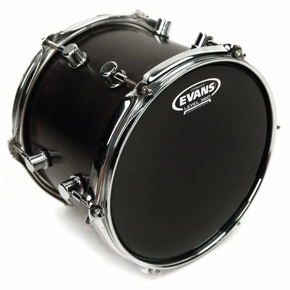evans hydraulic black drumhead snare drum heads tom heads steve weiss music. Black Bedroom Furniture Sets. Home Design Ideas