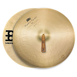 "meinl 18"" symphonic medium cymbal pair"