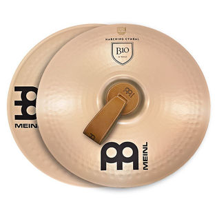 "meinl 20"" marching b10 cymbal pair"