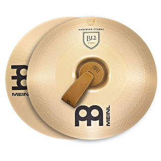"meinl 20"" marching b12 cymbal pair"
