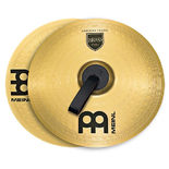 "meinl 16"" marching brass cymbal pair"