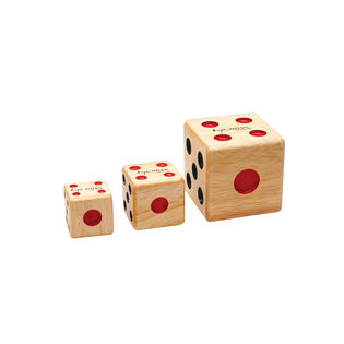 tycoon percussion set of 3 dice shakers