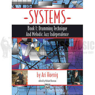 hoenig-systems book 1: drumming technique and melodic jazz independence