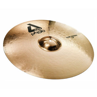 "paiste 18"" alpha brilliant thin crash cymbal"
