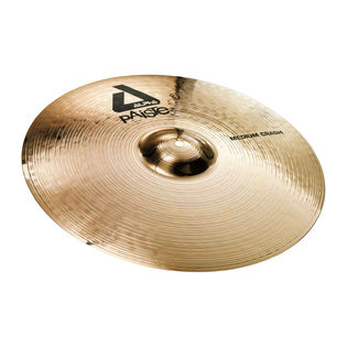 "paiste 16"" alpha brilliant medium crash cymbal"