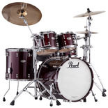 "pearl reference pure 4-piece standard shell pack with 22"" bass drum"