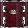 wine red pearl reference 4-piece hybrid shell pack