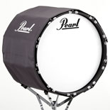 pearl marching bass drum cover