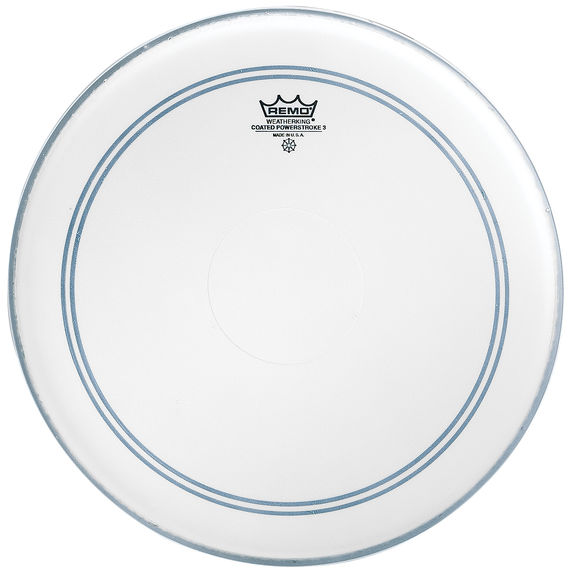 remo powerstroke 3 drum head coated with dot snare drum heads tom heads drum set drum. Black Bedroom Furniture Sets. Home Design Ideas
