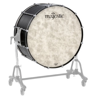 majestic concert bass drums