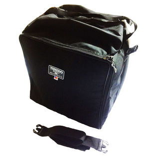 humes and berg tuxedo square marching snare drum bag