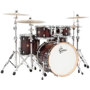 "gretsch catalina maple 5 piece groove shell pack - 20"" bass drum"