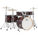 "gretsch catalina maple 7 piece rock shell pack drum set - 22"" bass drum"