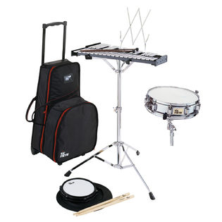 vic firth combination snare/percussion kit with traveler bag