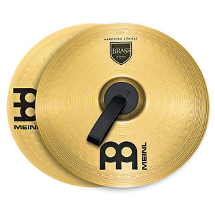 "meinl 13"" brass band cymbal pair"