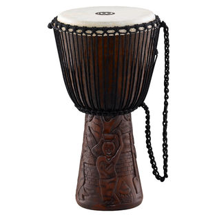 "meinl african style 12"" djembe - village carving"