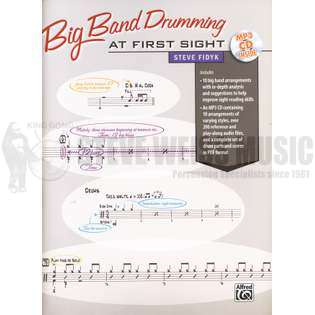 fidyk-big band drumming at first sight (w/mp3 cd)